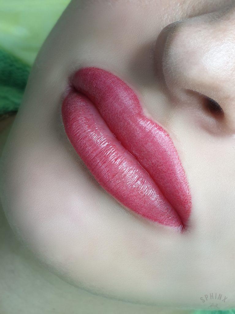 Татуаж губ Галины Жулябиной